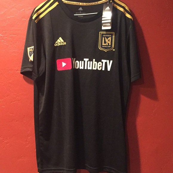 68c42b83c7e adidas Shirts | Lafc Los Angeles Fan Soccer Jersey | Poshmark